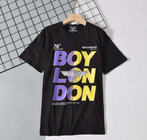Summer 2020 European and American trend New BOY high-quality street sports couple loose loose classic flying eagle T-shirt