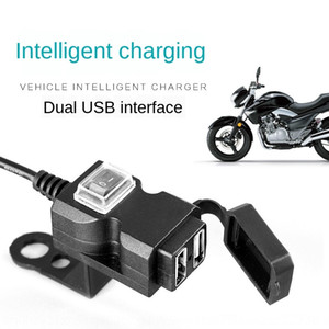 Pedal Motorrad Spiegel USB Rück mirrormotorcycle Dual-Port-Ladegerät 9V-90V two-in-one-Rückspiegel wasserdicht statten