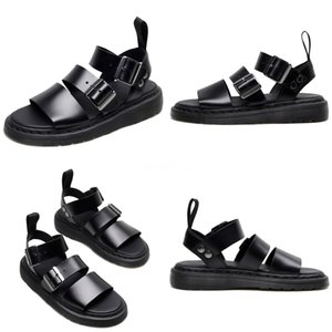 Krazing Pot Genuine Leather Fashion Square High Heels Peep Toe Beach Vacation Princess Solid Peep Toe Buckle Strap Sandals L72#117