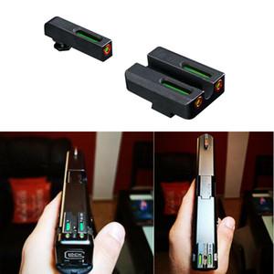 HQ Tactical Pistol Mechanical Optical G / R Fire Sight per Handgun Glo CK G17 G19 G22 Serie G22 GRATUITA