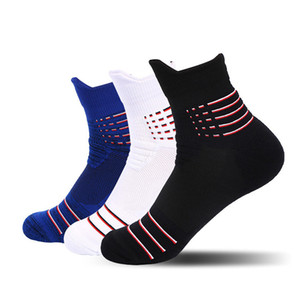 Women Running Socks Night Cycling Socks Men Breathable Non-slip Sport Sock for Outdoor Basketball Bicycle