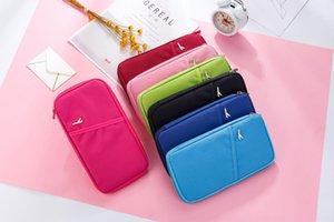 Korean Travelus multi-function travel card wallet storage Passport storage bag ticket holder passport bag
