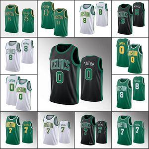 BostonnbaCeltics Men Kemba Walker Jayson Tatum Jaylen Brown 2020 Basketball Jersey