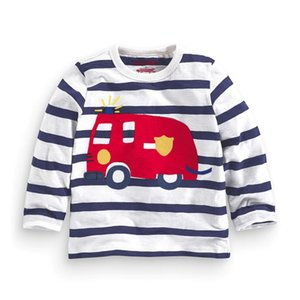 New arrivals Striped T shirts for baby boy tee shirt tops fashion 100% cotton solid full sleeve sping fall children clothing 2020 Spring