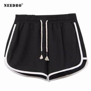 NEEDBO Women Shorts Sport Gym Black Fitness Shorts Female Plus Size Casual Running Workout Trunks Jogging Sexy For Women