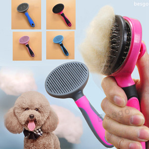 Remoção Inovar Pet Combs cão cabelo do gato Tools Escova Comb Pet Grooming Cuidados Gatos Cães queda de cabelos Trimmer Comb Pet Shop DBC BH2861