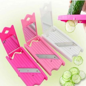2017 new DIY Applied Cucumber Slices Mask Slicer Cucumber Beauty Knife Face Skin Care Tool free shippingByLb#