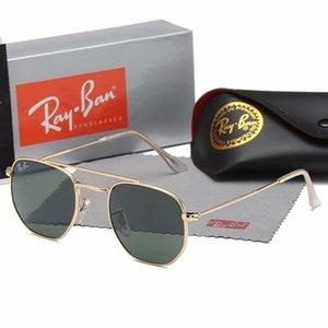 2020 Aviator Fashion 3648 Men Sunglasses Glass UV400 Protection Sport Vintage Sun Glasses Retro Eyewear with Box Case