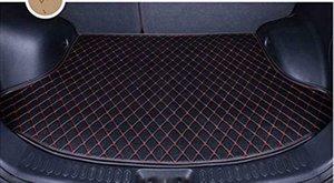 2013-2018 Fusión Bandeja de carga de línea de cuero Trunk Floor cubierta Mat para Ford (Para no híbrido)