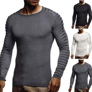 ZOGAA Slim Sweater Men 2020 Autumn Thin O-Neck Knitted Pullover Men Casual Solid Mens Sweaters Pull Homme mens sweater