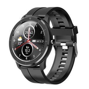 T6 Full Touch Screen Smart Watch Men Women Custom Heart Rate Monitor Message Reminder Health Sport Fitness Tracker PK V8 Fitbit
