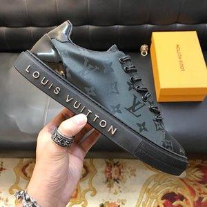 Mens Shoes Casual Fashion Sneakers Chaussures De Sport Pour Hommes Lace Up Luxembourg Sneaker Zapatos De Hombre With Original Box Drop Ship