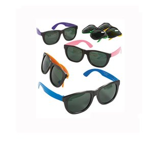 Children Party Sun Glasses Child Neon Lights Sunglasses Kids Red Yellow Green Multi Colors Ornament New Arrival 1 88hp L1