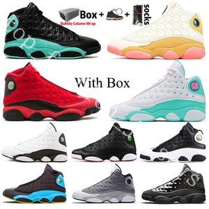 13 13s Jumpman CNY Che cos'è l'amore Flint 2020 scarpe da basket per gli uomini donne Soar verdi giochi Lakers allevati Sneakers Trainers formato 13 degli Stati Uniti