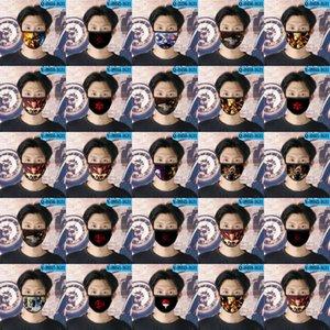 Naruto Ao Cubrebocas Designer Tapabocas riutilizzabile Maschera per le ragazze del fumetto della maschera di 05 Naruto Ao LMKdO bbshome