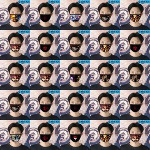 Naruto Ao Cubrebocas Designer Tapabocas Masque réutilisable visage pour les filles Masque Cartoon Visage 05 Naruto Ao LMKdO bbshome