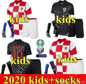 2020 Jungen Jugend-Fußballjerseys Perisic 20 21 MODRIC Mandžukić REBIC Kits Fußball-Hemd RAKITIC Kinder Kinder Kit Uniformen