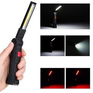 Portátil lumen COB LED portátil Spotlight Luces de trabajo con magnético 5 Modos USB recargable de alto brillo de ahorro de energía