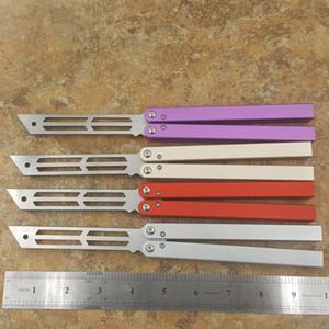 Triton Bir kanal Alüminyum Burç sistem kelebek eğitmen eğitimi bıçak değil keskin El Sanatları Dövüş sanatları Koleksiyon knvies şimdi hediye