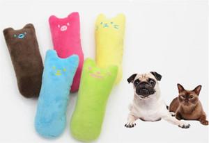 Kediler için Catnip Oyuncak Komik İnteraktif Peluş Kedi Oyuncak Pet Kitten Çiğneme Vokal Oyuncak Pençeler Başparmak Bite Kedi nane Taşlama Dişler
