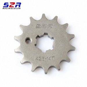 S2R motocicleta 428 14T Frente dentada accionada para FZ16 FZ16 FZS FZS FZ 16 S Transmissão rodas dentadas 285v #