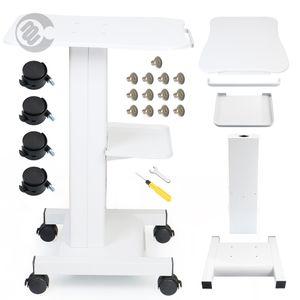 Profissional Salon Trolley Beleza suporte de ferro Trolley suporte montado Styling Pedestal Para HIFU cavitação RF beleza Machines