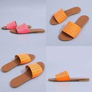 Donne Dener sandalo Flip Flops Slipper Estate Slipper Grande casuale diapositive Soes signore Fasion piatto Slipper 35-43 # 353