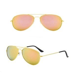Dener Sunglasses Color Film grande frame Sapo Sunglasses homens e mulheres é metal óculos polarizados Sunglasse # 699