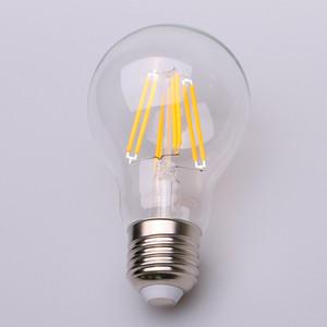 빈티지 에디슨 LED 전구, 6W 골동품 LED 전구, A60 LED 전구, E27 / B22 매체 자료 램프, 2700K 따뜻한 화이트, 600 루멘, 60 와트 동등