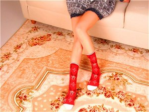 Christmas Stocking Casual Ankle Length Fashion Colorful Ladies Socks Female Cotton Comfortable Clothing Womens Creative Designer