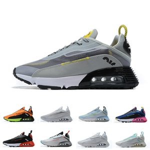 Male Female 2090 Running Shoes High Quality 2090s Air Designer Sneakers Classic Air2090 Casual Trainers Size 36-46 for Man Woman D0725