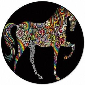 Renk At Sanat Ana Salon Yuvarlak Kilim İçin Çocuk Odaları Kaymaz Mohawk Halı Mohawk Halı Pri nY1l # İçin Desen Kilimler Ve Halılar