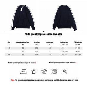 mens fashion designer hoodies striped sweatshirt casual printing hooded women hip hop designer hoodie pullovers bdfc s-xl