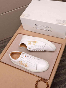 2020 Designer NEW Mens Shoes Trainers Sneakers BALLY Men&#39s Business Casual Shoes 38-46 1190-1