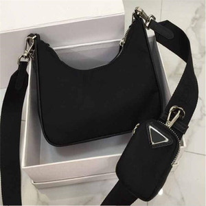 النساء CROSSBODY حقيبة عارضة الازياء الفاخرة الرغيف الفرنسي البسيطة مصمم الكتف حقيبة نايلون حقيبة يد أنثى من أجل الكتف رسول