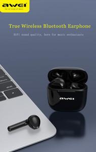 عينة!! TWS ستيريو سماعات لاسلكية سماعات بلوتوث IPX4 مقاوم للماء في الأذن صوت عالي الجودة عميق باس قطرة شحن