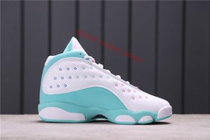 2020 Luky GREEN Aurora Green 13 13s men basketball shoes Playground Bred CNY Reverse Flint Island Green mens sports xshfbcl sneakers