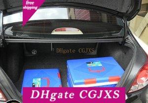 45l Grande pieghevole in plastica Tronco Storage Box Car Armadio di immagazzinaggio di campeggio piegante di finitura Boxes 20pcs un sacchetto