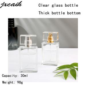 1pcs Hot Sale 30ml Esvaziar recarregáveis garrafa Perfume portátil e vidro de viajantes do pulverizador atomizador transparente frasco de perfume