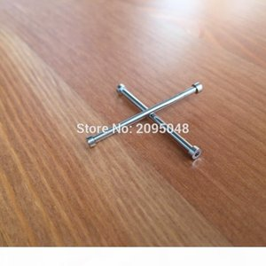 G Wholesale -2pieces Set 34mm Inner Hexagon Watch Screw Tube Screw Bar Rod For Bell Ross Aviation Br 01 Skull 46mm Watch Br 01 -92 Airb