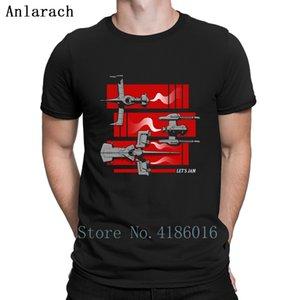 Shuttle Cowboy Bebop passerelle T-shirt Haut T Sites web Creative été 2019 drôle T-shirts populaire en vrac S-3XL Loisirs