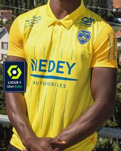 Thai version 2020 2021 maillot de football Sochaux jersey personnalisable de la maison jaune 20 21