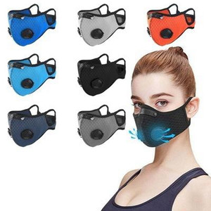 In STOCK! Designer luxury Cycling Face Mask Activated Carbon With Filter PM2.5 Anti-Pollution Sport Running Training Protection Dust EEA1832