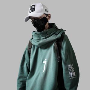 New High Street Hip Hop Hoodies Oversize Couple Fashion Streetwear Men Women Harajuku Style Pullover Cotton Casual Sweatshirts