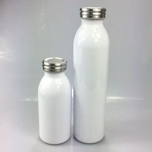 New DIY Heat Sublimation 12oz 20oz Milk Bottles Stainless Steel Milk Flask Kids Double Wall Vacuum Insulated Water Bottle