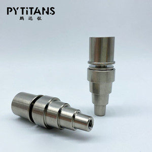 NEW Dnails 6 in 1 Titanium Domeless Nägel 10/14 / 18mm Female männlicher elektrischer Nagel 16 / 20mm Coil