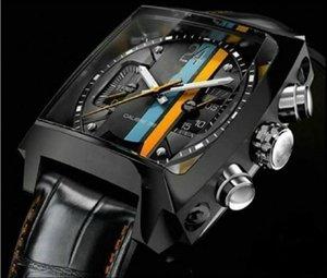 2020 Top 2813 Men'sMechanical en acier inoxydable Mouvement automatique Montre de sport mens auto-vent Montres LABEL Mode Wristwatch