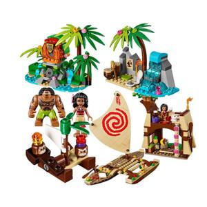 Yeni Sermoido Moanas Okyanus Voyage Te Fiti Yapı Taşı Bricks Heart of Oyuncak İçin Çocuk Noel 41.150 Restore