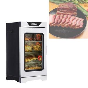 Vente chaude en acier inoxydable multifonctions fumeur viande électrique / poisson / poulet / tête de porc machine à fumée de viande D1701