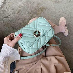 2020 Summer MINI PU Leather Crossbody Bags for Women Lady Shoulder Messenger Handbags Female Travel Cross Body Bag